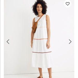 Madewell tiered maxi dress